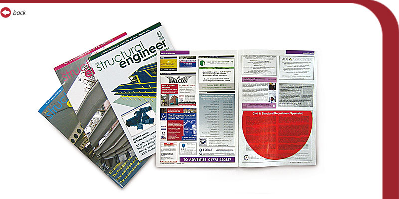 Structural Engineering Magazine : Steve jackson structural engineer advertising